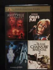 Amityville Horror/Child's Play/Last House on Left/Texas Chainsaw (DVD, 4-Disc)