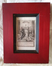 Regina Music Box Co. Framed Ad