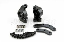 Jazrider Aluminum Steering Block Knuckle Arms (Black)For Element Enduro RC Truck
