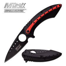 Coltello MTech Usa Ballistic red Sport MTA901BR Knife Messer Couteau Navaja