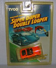 """NEW"" TYCO SUPER DUPER DOUBLE LOOPER NISSON 300ZX ORANGE 440X2 HO SLOT CAR"