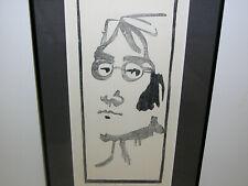 Cuba Art Print John Lennon The Beatles Havana Cuban Serigraph 1984 Pencil Signed