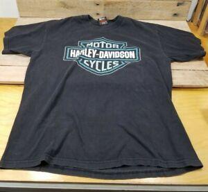 Harley Davidson T Shirt Hanes Beefy Nassau Bahamas Graphic T-Shirt