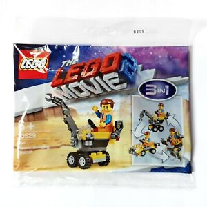 LEGO - The Lego Movie 2 (30529) Mini Master-Building Emmet 3in1 Polybag NEW