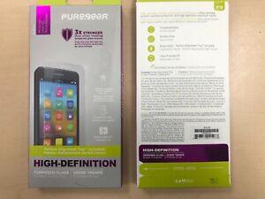 PUREGEAR Motorola Moto Z2 Force Edition Tempered Glass Screen Protector