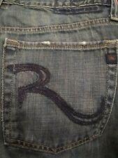 AUTHENTIC ROCK & REPUBLIC RALPH STRAIGHT LEG MEN JEANS SIZE 33 X 34.5 VIC-THOR1