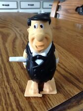 Fred Flintstone walking wind up toy Burger King rare vintage Fun