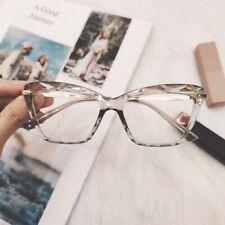 Ojo De Gato Gafas De Lente Transparente para Mujer Retro Gafas Marcos gafas de moda de mujer