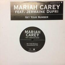 "Mariah Carey - Get Your Number Vinyl 12"" 0713203"