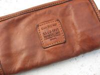 Campomaggi Zip-Around Italian Leather Wallet Men's Porte-Monnaie Porte-feuille