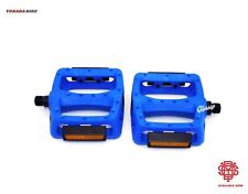 Odyssey Twisted PC 9/16 Plastic BMX Pedals Blue New Free Shipping 410g