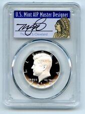 2020 S 50C Silver Kennedy Half Dollar PCGS PR70DCAM FDOI Thomas Cleveland Native