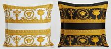 Versace Medusa Pillow  Black/White Reversible