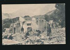 India DHARMSALA Goorkha Gurkha Barracks Eathquake 1905 PPC