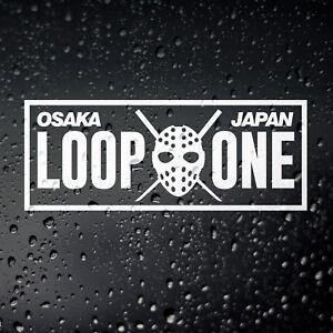 Loop One Kanjo Car Sticker - JDM Osaka Tuner Drift Kanjozoku Civic EG EH EK