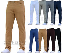 BNWT NEW MENS REGULAR FIT STRETCH JEANS WORK PANTS TROUSERS ALL WAIST SIZES