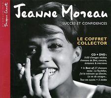 Jeanne Moreau : Succès et Confidences - Le coffret collector (CD + DVD)