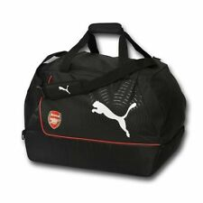 Puma ARSENAL FC Large Team Holdall Bag Official Football Bags Black Shirt