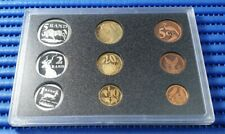 1998 South Africa Proof Coin Set ( Lot of 9 Coins ) by South African Mint