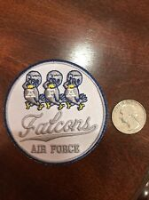 """AIR FORCE FALCONS Vintage Embroidered IRON ON VINTAGE Patch Apps 3"""""""