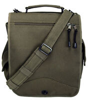 laptop bag M-51 engineers field bag canvas military style rothco 8612