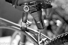 Photo Art Artiste Déco design Noir et Blanc - Détail vélo - Selle de Vélo