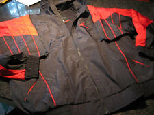 NWT - Mens NIKE  AIR JORDAN Black/Red Mesh Lined Coat/Vest (XL)