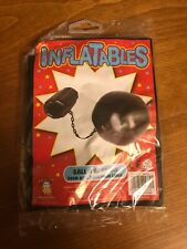 Inflatable Ball & Chain Prisoner Convict Fancy Dress Accessories - NEW
