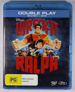 Wreck It Ralph Blu Ray FREE POST