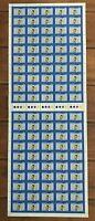 "1980 Full Sheet 100 x 20c Australian Stamps ""Australia Day Mathew Flinders""  MNH"