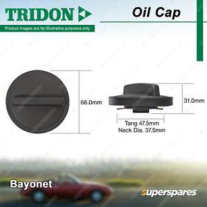 Tridon Oil Cap Bayonet 37.5mm for Daewoo Lanos SX Nubira J150 1.6L 2.0L