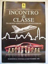 FERRARI CLUB ITALIA MAROSTICA INCONTRO DI CLASSE 8-9 SETTEMBRE 1990   ( cc33)
