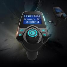 (EU) Bluetooth FM Transmitter Car Kit MP3 USB Charger Handsfree for Mobile Phone