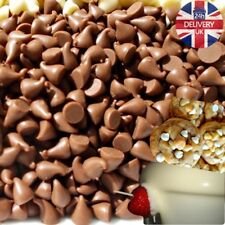 Chocolate Drops 1kg 700g 500g Small for Fountain, Decorations, Baking as Sweets