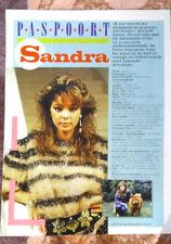 Sandra Lauer Cretu *Paspoort* Article, A4 page.