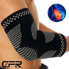 Copper Elbow Brace Compression Support Sleeve Arthritis Tendon Joint Pain Wrap