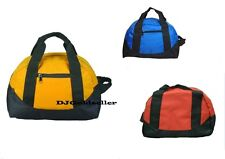 """12"""" Duffel Duffle Travel Sports Gym Bags Mini Carry-on Luggage Small Two Tone"""