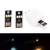 1/3pcs portable mini usb power 3 led touch dimmer lamp pure/warm white light LU