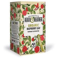 Heath & Heather Organic Raspberry Leaf - 20 Bags