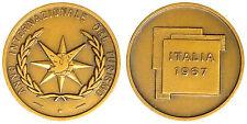 Medaglia Medal ANNO INTERNAZIONALE DEL TURISMO ITALIA 1967 #MD3516