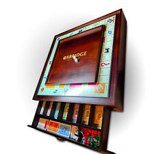 Custom Luxury Wooden Game Board for Monopoly - Pimp your Monopoly board
