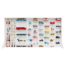 White 100 Mini Car collection Display Cases tomica hot wheels 1:64