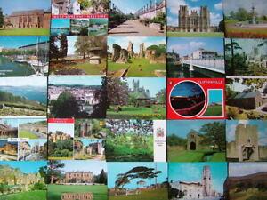 100 Unused Postcards of SOMERSET, AVON & EXMOOR.  Good condition