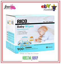 Rico Baby Wipes, 900-count =Free Shipping=
