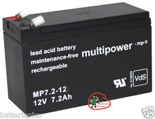 Multipower Bleigel Akku 12V/7,2Ah MP7.2-12