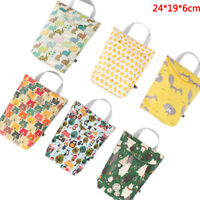 Multifunctional  Baby Diaper Organizer Reusable Waterproof Bag Travel Nappy B JC