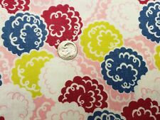Best Vintage Feedsack Quilt Fabric 40s Puff Ball Flowers Pink Flour Full Sack
