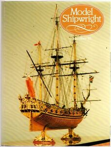 Model Shipwright No 93  (Conway 1995 1st) with Modellers Draught plan
