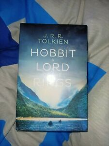 JRR Tolkien 4-Book Boxed Set The Hobbit and The Lord of the Rings
