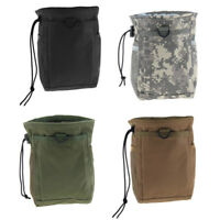 Nylon Drawstring Camping Bag Outdoor Recycling Organizer Dump Storage Pouch
